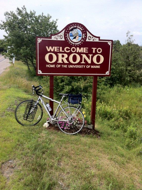 Approaching Orono
