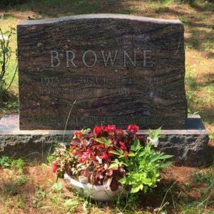 Browne Grave