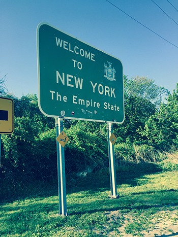 Entering New York